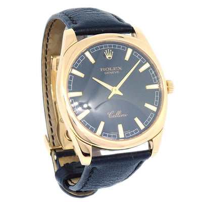 ROLEX Cellini Ref.4243/8 Mens Manual-winding Wristwatch YG750