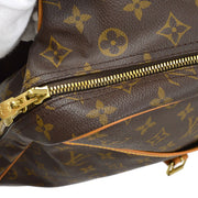 LOUIS VUITTON SAC CHASSE 2WAY TRAVEL HAND SHOULDER BAG MONOGRAM M41140