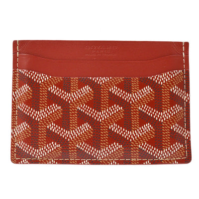 GOYARD Saint Sulpice Card Case Holder Red