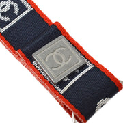 CHANEL Sport Line Neck Strap Navy Red