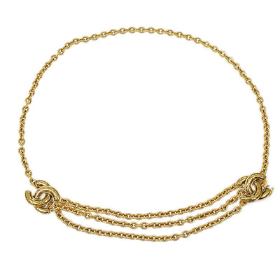 CHANEL Gold Chain Belt 6051