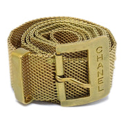 CHANEL Gold Chain Belt 94A