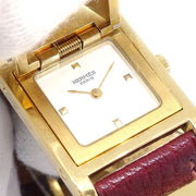Hermes Medor watch ME1.201 Ladies Quartz Wristwatch Watch Togo