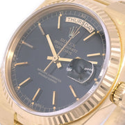 ROLEX OYSTER QUARTZ DAY DATE Ref.19018 Mens Self-winding Wristwatch 18K