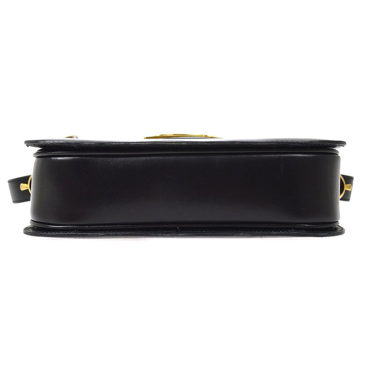 CELINE Horse Carriage Shoulder Bag Black