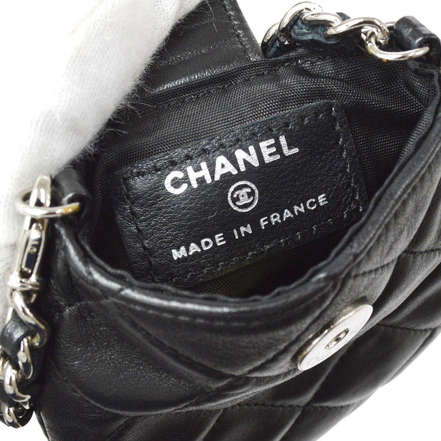 CHANEL Chain Mini Multi Pouch Black