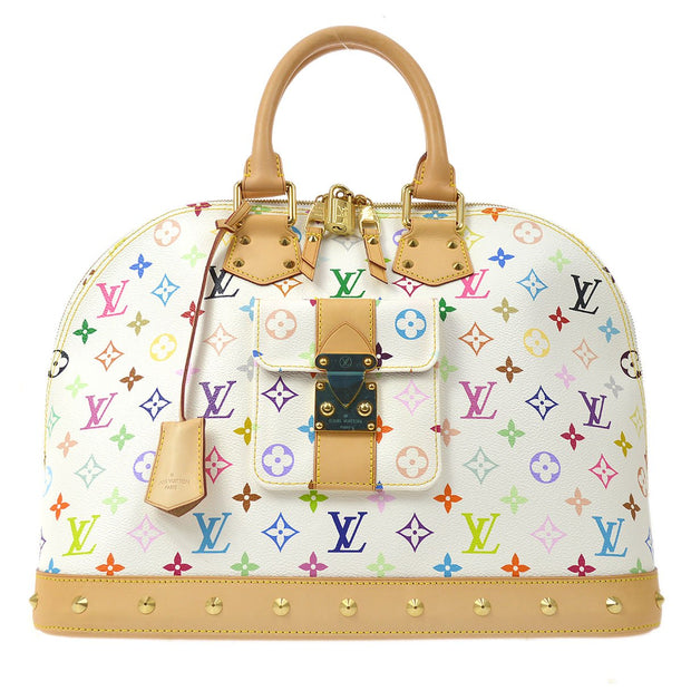 LOUIS VUITTON ALMA GM HAND BAG BRON MONOGRAM MULTI-COLOR M40441