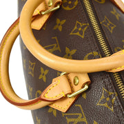 LOUIS VUITTON SPEEDY 25 HAND BAG MONOGRAM M41528