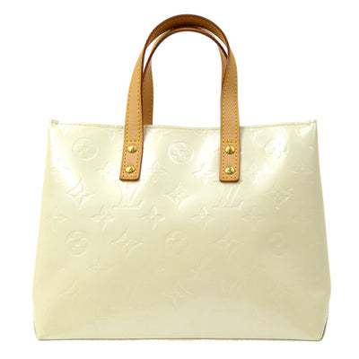 LOUIS VUITTON VERNIS READE PM HAND TOTE BAG PERLE M91336