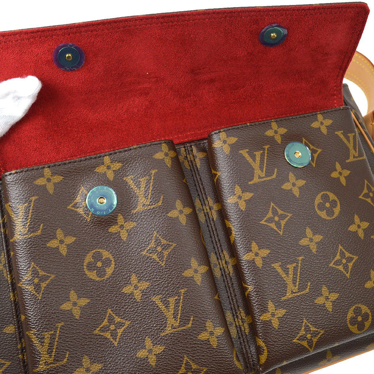 LOUIS VUITTON VIVA CITE GM HAND BAG MONOGRAM M51163