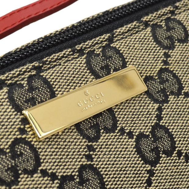 GUCCI GG Pattern Hand Bag Beige