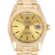 ROLEX OYSTER PERPETUAL DAY DATE Ref.18038 Mens Self-winding Wristwatch