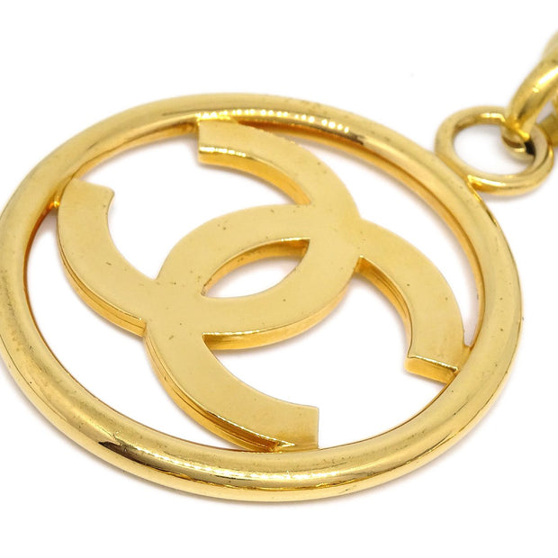 CHANEL Medallion Gold Chain Belt 93A