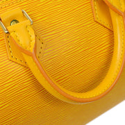 LOUIS VUITTON SPEEDY 25 HAND BAG YELLOW EPI M43019
