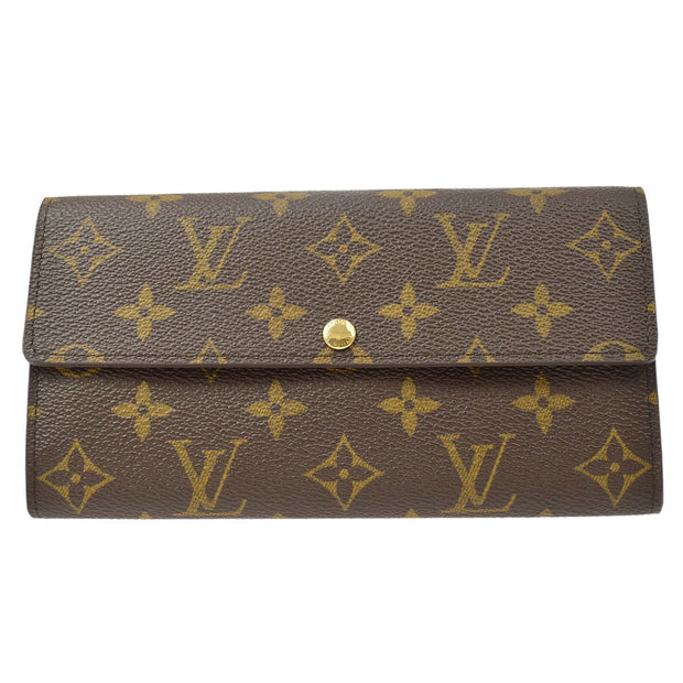 LOUIS VUITTON PORTEFEUILLE SARAH WALLET PURSE MONOGRAM M61734