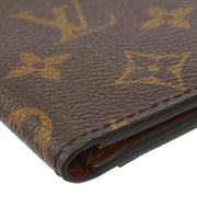 LOUIS VUITTON ORGANIZER DO POSH CARD HOLDER WALLET M60502 MONOGRAM Small Good