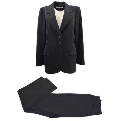YVES SAINT LAURENT Setup Suit Jacket Pants Black #38