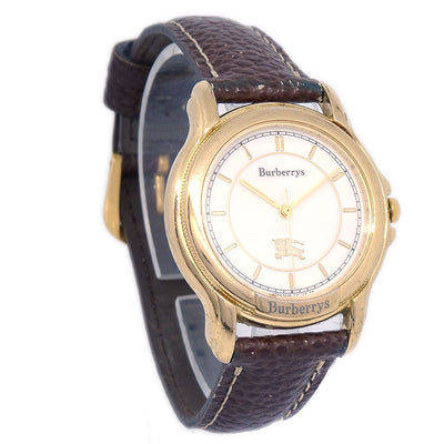 Burberrys OF LONDON 900207 Ladies Quartz Watch Gold Plated