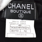 CHANEL 96C #42 T-Shirt Black