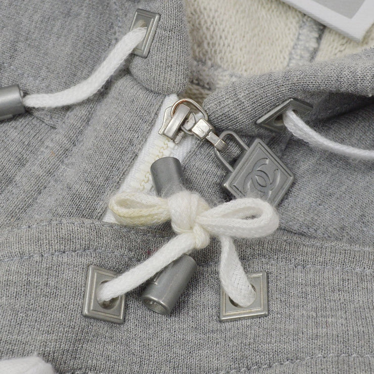 CHANEL 05P #36 CC Sports Zip-up Foodie Parker Gray