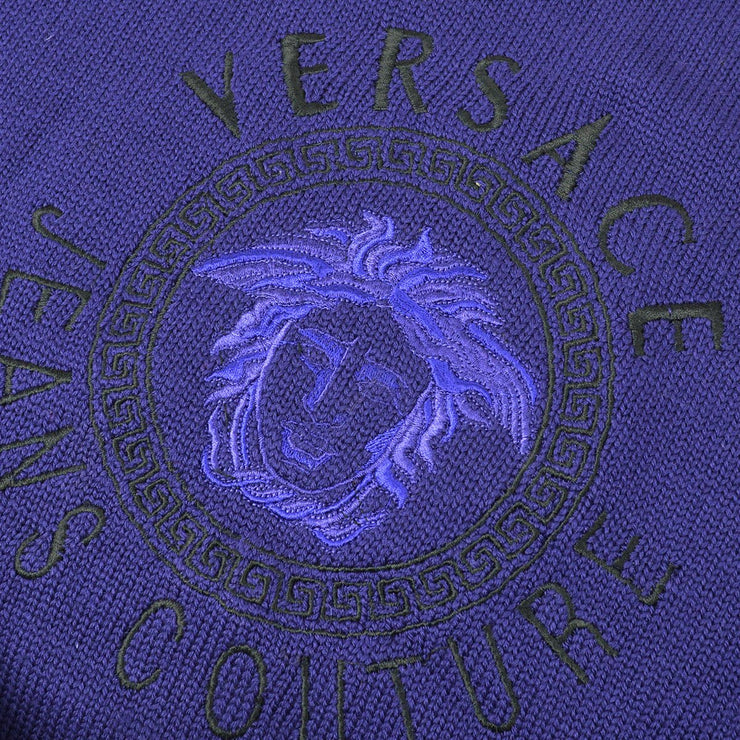 VERSACE Medusa Sweater Blue #S