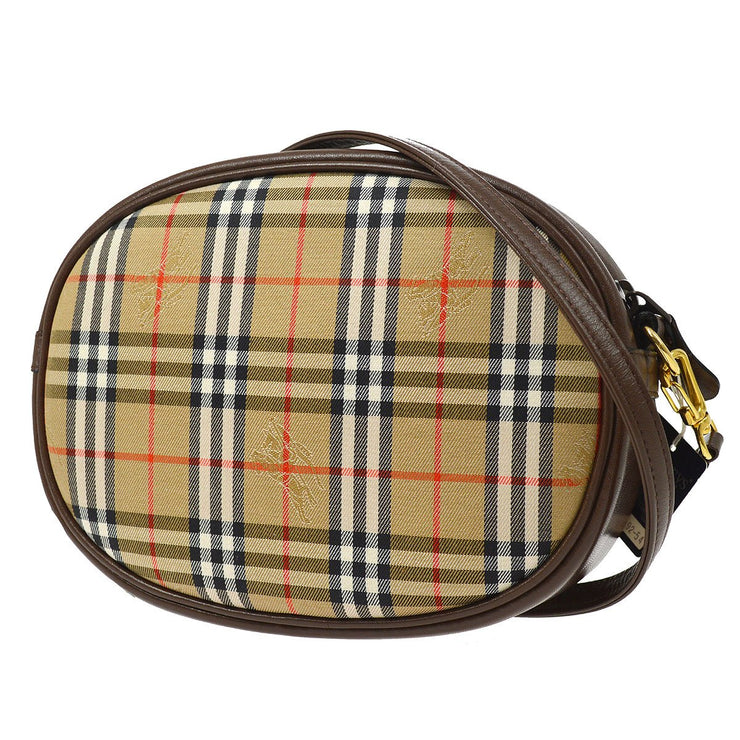 BURBERRY'S House Check Shoulder Bag Beige