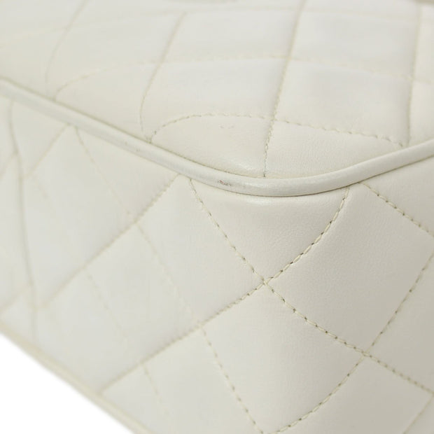 CHANEL Shoulder Bag White