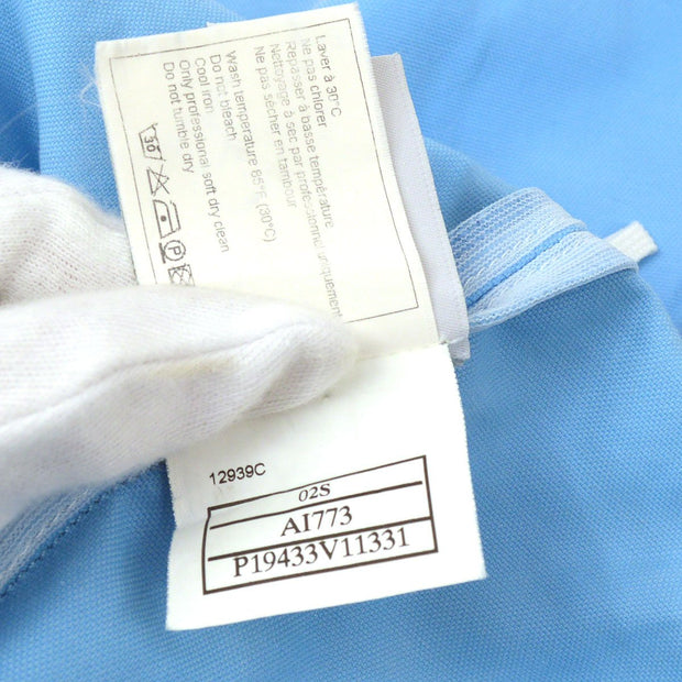 CHANEL 02S #34 Sports Line Skirt Light Blue