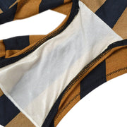 FENDI Zucca #42 Bikini Swimwear Swimsuit Brown