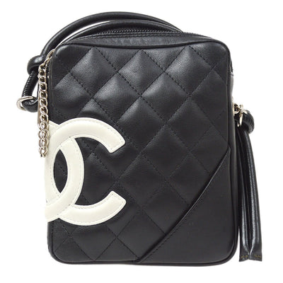 CHANEL Cambon Shoulder Bag Black