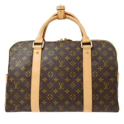 LOUIS VUITTON CARRYALL TRAVEL HAND BAG MONOGRAM M40074