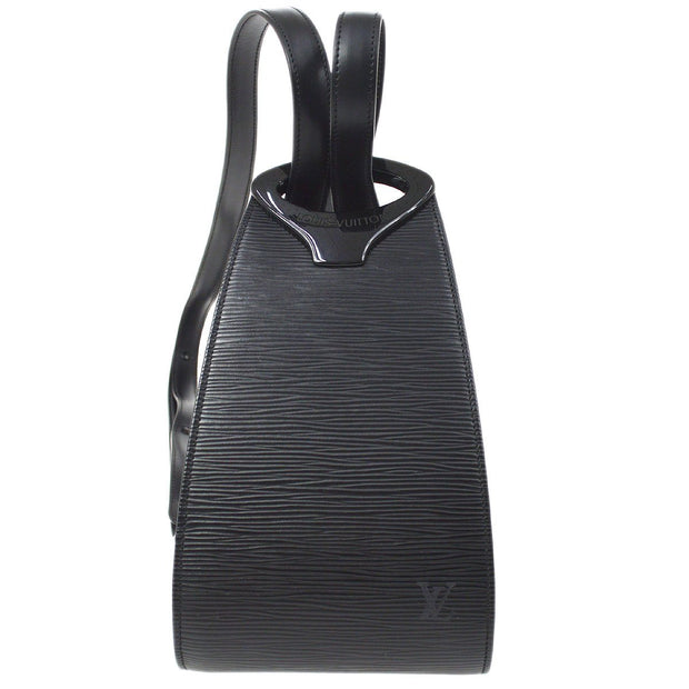 LOUIS VUITTON MINUIT SHOULDER BAG BLACK EPI M52392