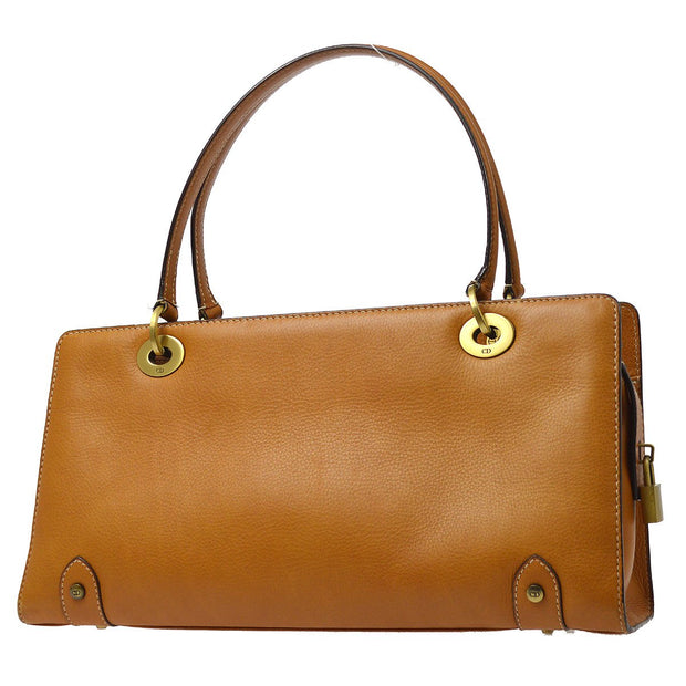 Christian Dior Lady Dior Hand Bag Brown