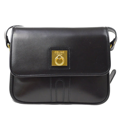 CELINE Shoulder Bag Black