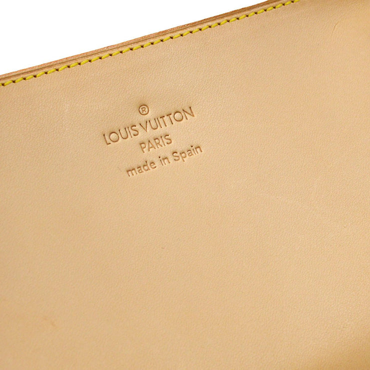 LOUIS VUITTON BUCKET ATTACHED POUCH BAG NOMADE BEIGE