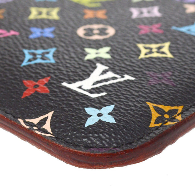 LOUIS VUITTON POCHETTE CLES COIN CASE WALLET MULTICOLOR M93735