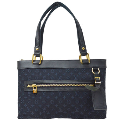 LOUIS VUITTON LUCILLE PM HAND BAG TST BLUE MONOGRAM MINI M92680