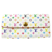 LOUIS VUITTON PORTE MONNAIE CREDIT WALLET MONOGRAM MULTI M60004
