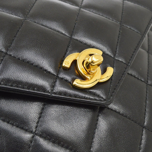 CHANEL Hand Bag Black