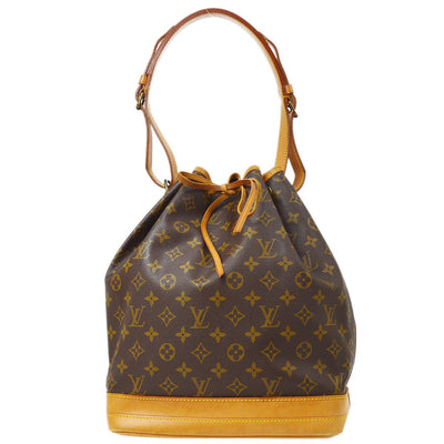 LOUIS VUITTON BUCKET NOE DRAWSTRING SHOULDER BAG MONOGRAM M42224