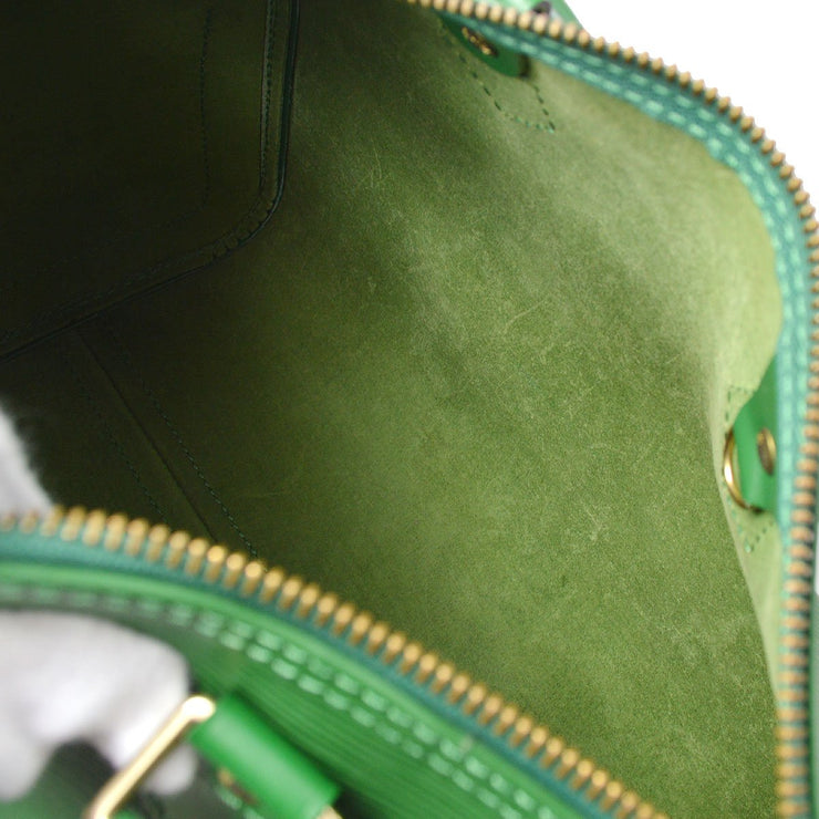 LOUIS VUITTON SPEEDY 25 HAND BAG GREEN EPI M43014