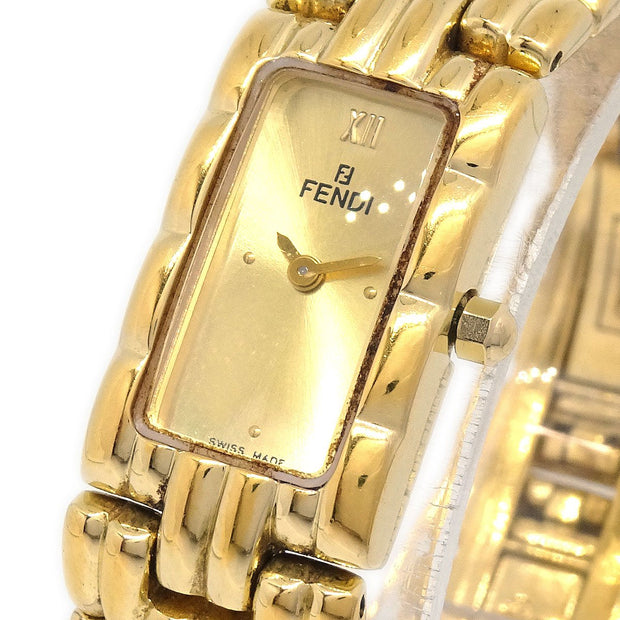 FENDI 670L Ladies Quartz Wristwatch Stainless steel