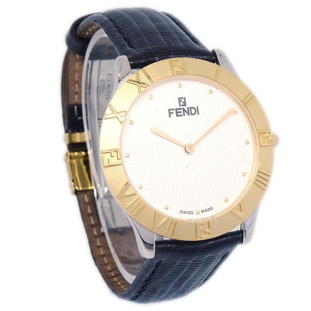 FENDI 2000G Mens Quartz Wristwatch Watch Stainless steel