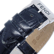 FENDI 210G Mens Quartz Wristwatch Watch Stainless steel