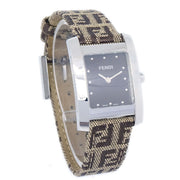 FENDI CLASSICO 7000L Ladies Quartz Wristwatch Stainless steel