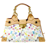 LOUIS VUITTON Ursula Blanc Hand Bag Monogram Multicolor M40123