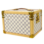 LOUIS VUITTON BOITE FLACONS COSMETIC BAG DAMIER AZUR