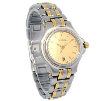 GUCCI 9040L Ladies Quartz Watch Stainless steel 3ATM