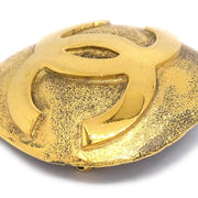 CHANEL 29 Brooch Pin Corsage Gold