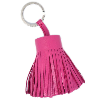 HERMES Carmen Fringe Key Pink  Small Good